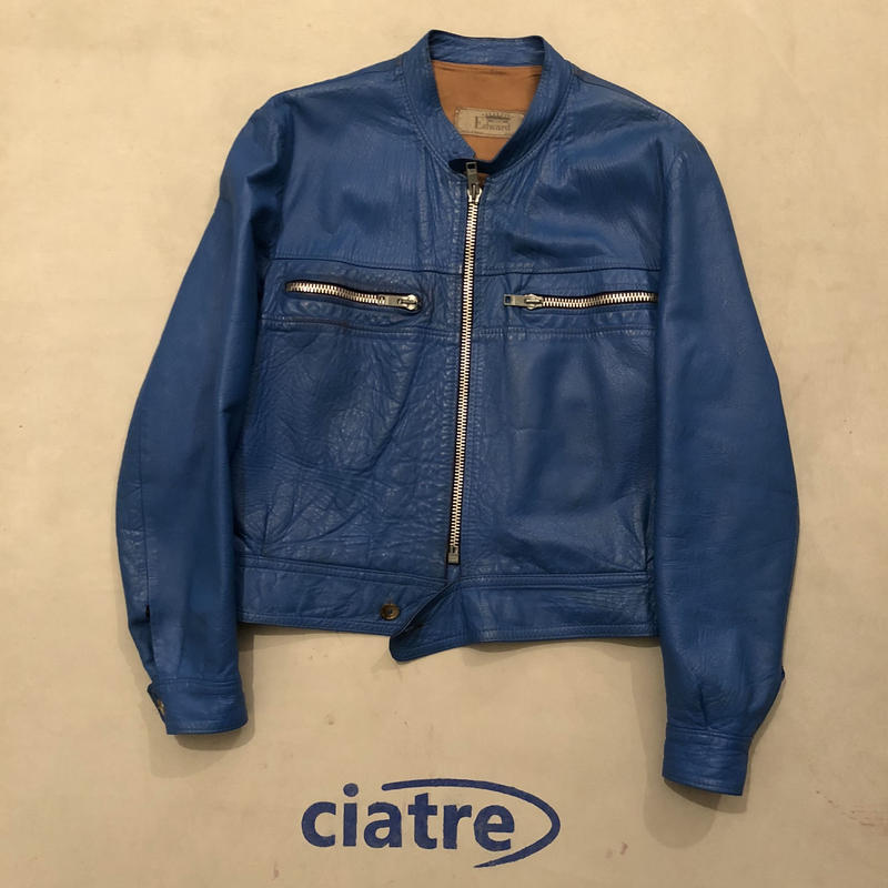French Vintage Leather Jacket