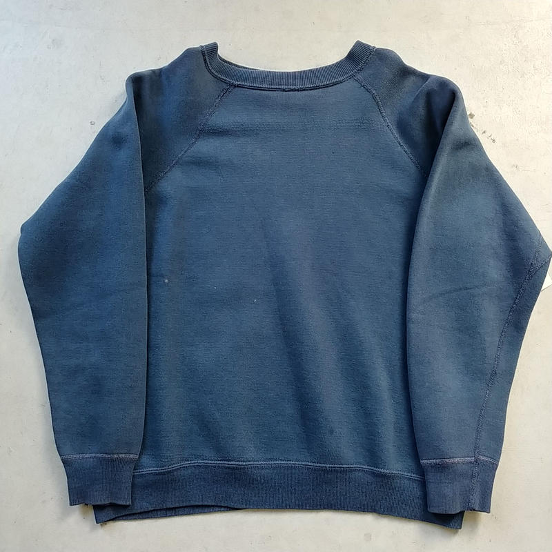 60s~ Freedom Sleeve Sweat Shirt Navy