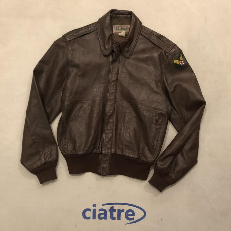 80s L.L.Bean A-2 Flight Jacket