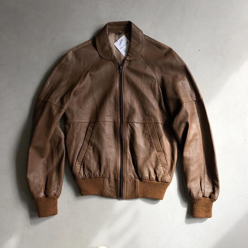 Euro Vintage Leather Boulson