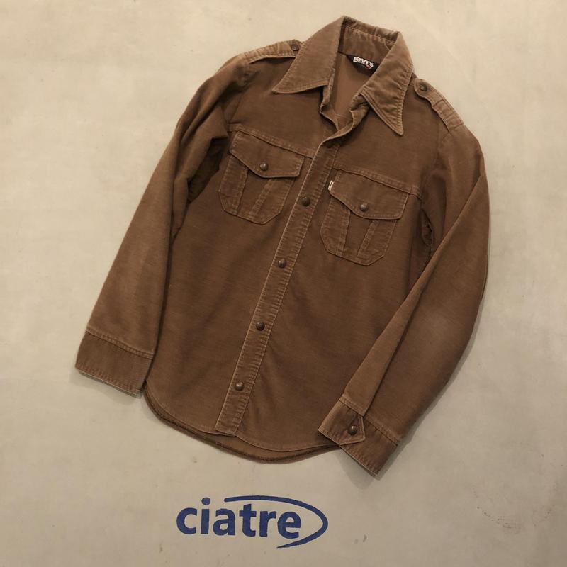 70s Levi's Corduroy Shirt