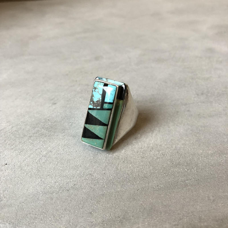 Old indian jewelry turquoise ring