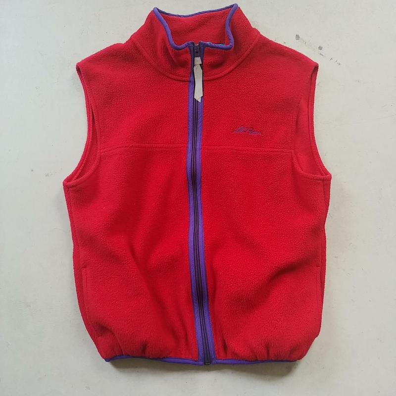 ~90s L.L.Bean Fleece Vest