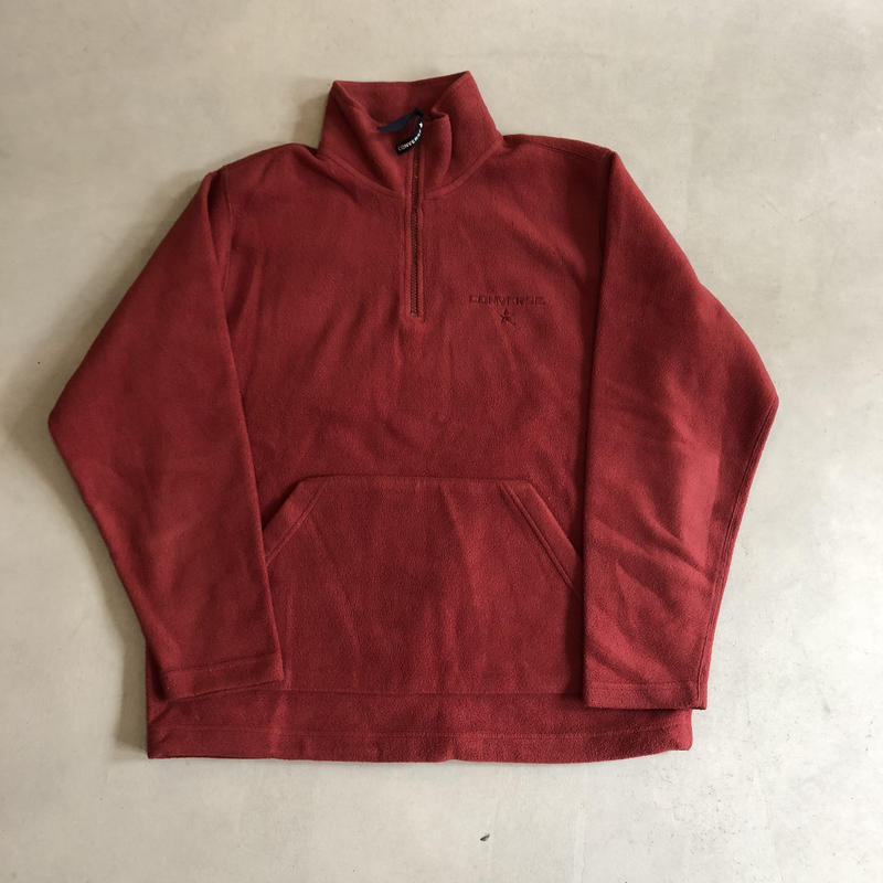 Old CONVERSE Half Zip Fleece