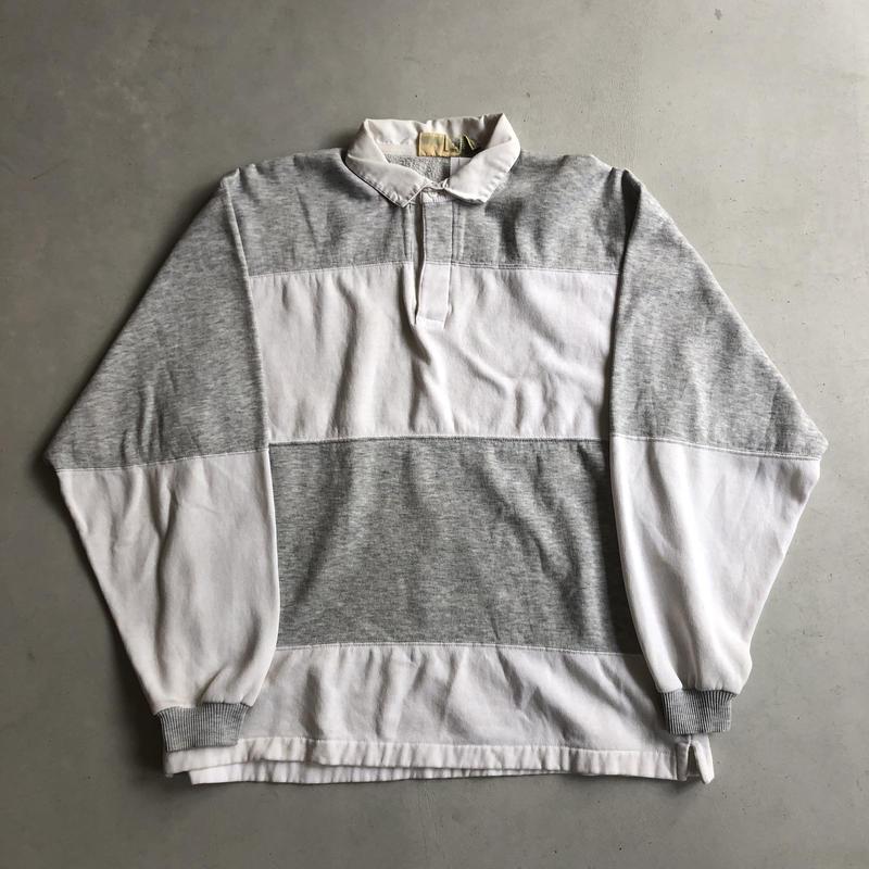 90s ST. JOHN'S BAY Border Rugger Shirt