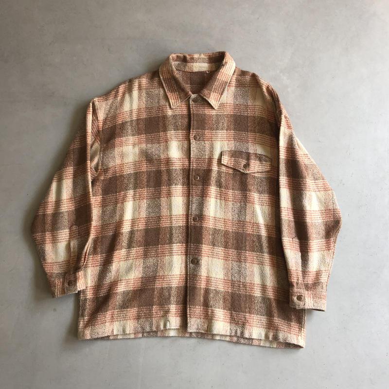 Old Wool Check Shirt