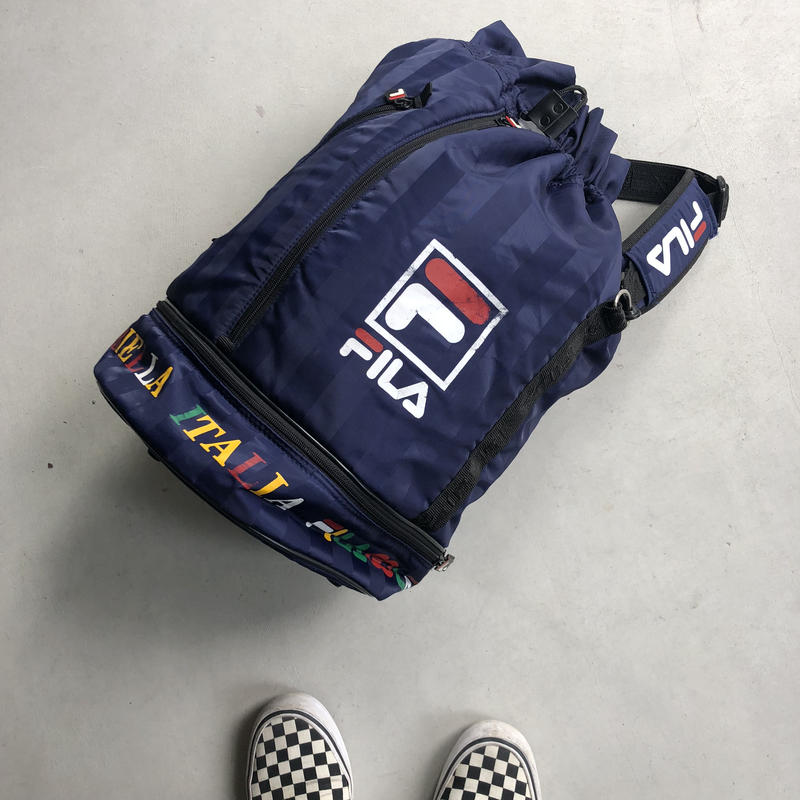 90s~ FILA GOLF Nylon Shoulder Bag