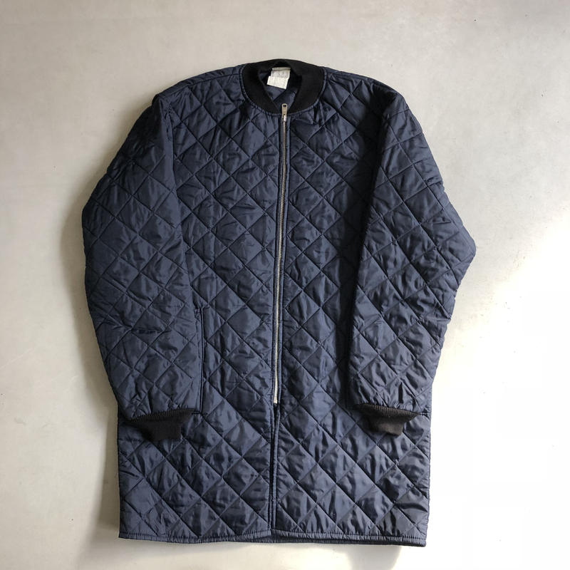 80s Canada Made Nylon Quilted Coat