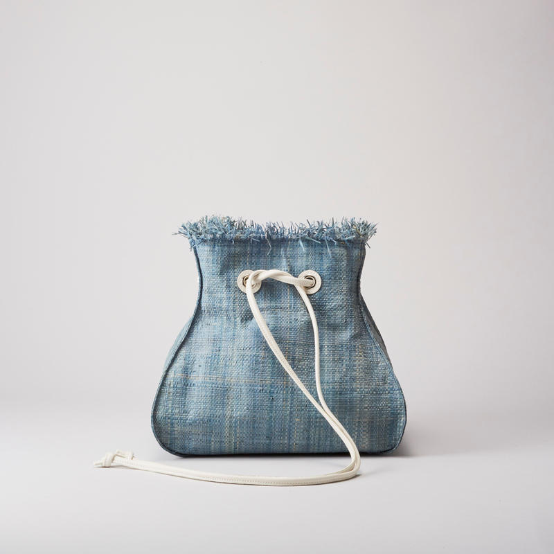 Ele`Sac RaffiaDrawstrings(Saxblue)