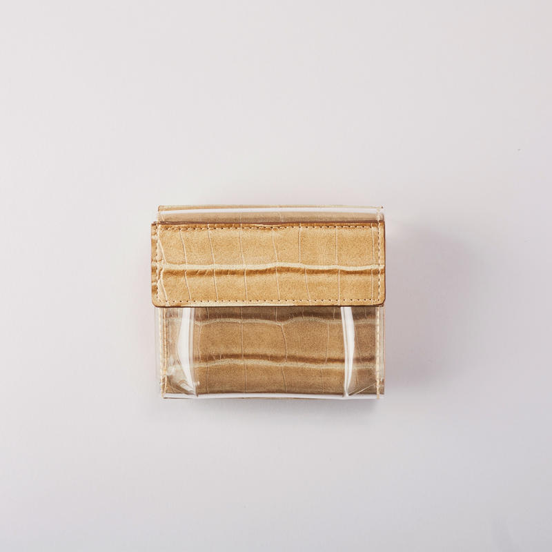 ADD CULUMN WINDOW/Wallet(Beige)