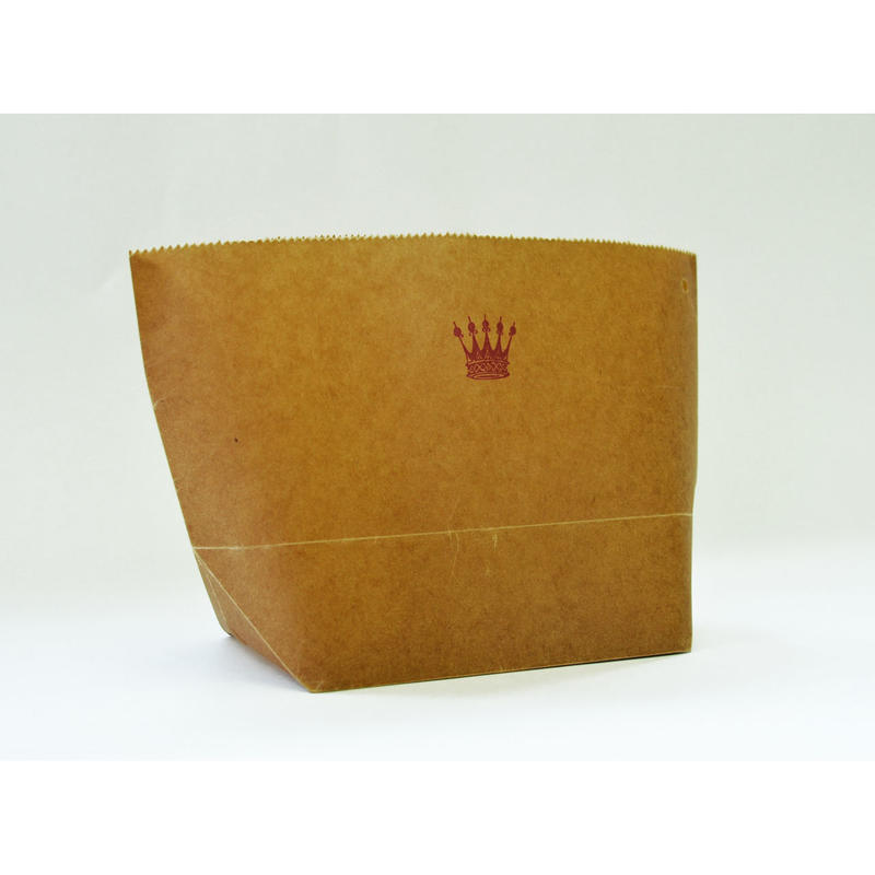 WAX PAPER MARCHE BAG  crown