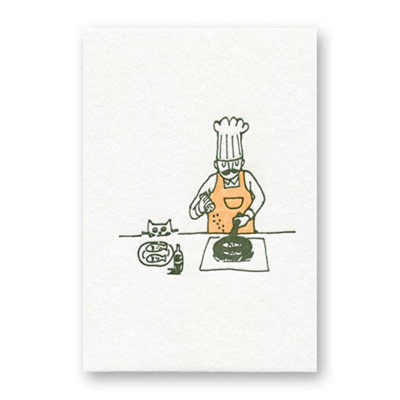 LETTERPRESS CARD 活版カード12