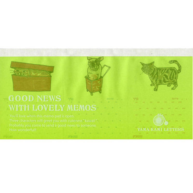 GOOD NEWS WITH LOVELY MEMOS O-Y02