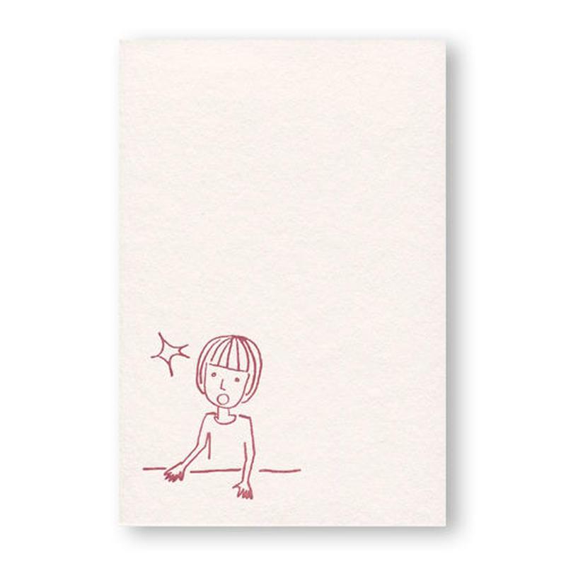 LETTERPRESS CARD 活版カード05