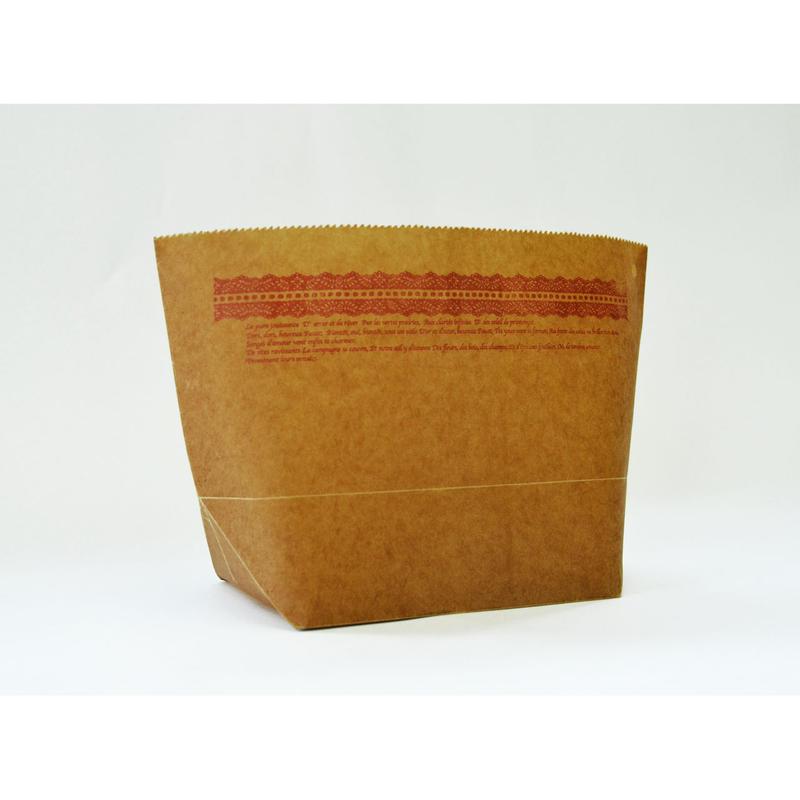 WAX PAPER MARCHE BAG  lace
