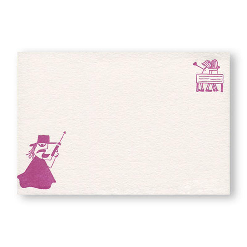 LETTERPRESS CARD 活版カード04