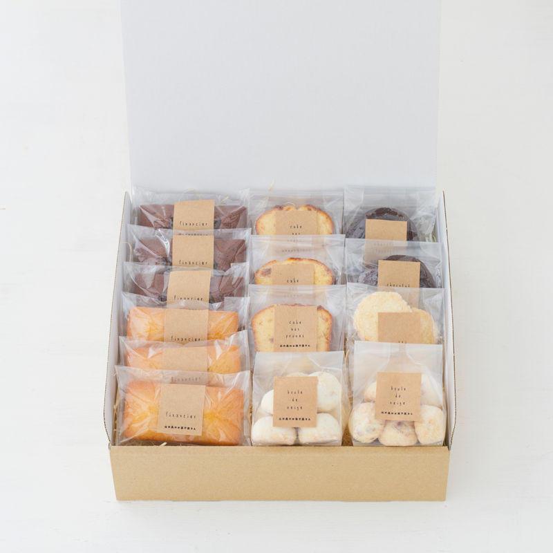 人気の焼菓子3500円セット