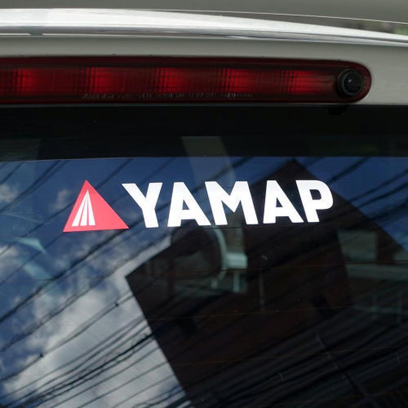 YAMAPオリジナル・カッティングステッカー(大)