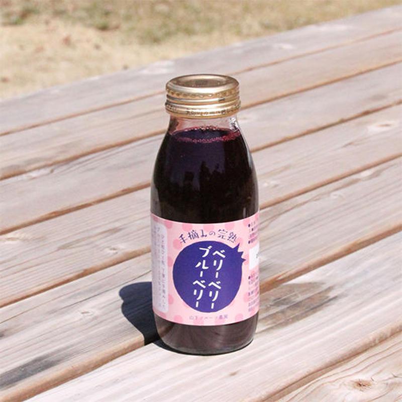 ブルーベリージュース 200ml×3本