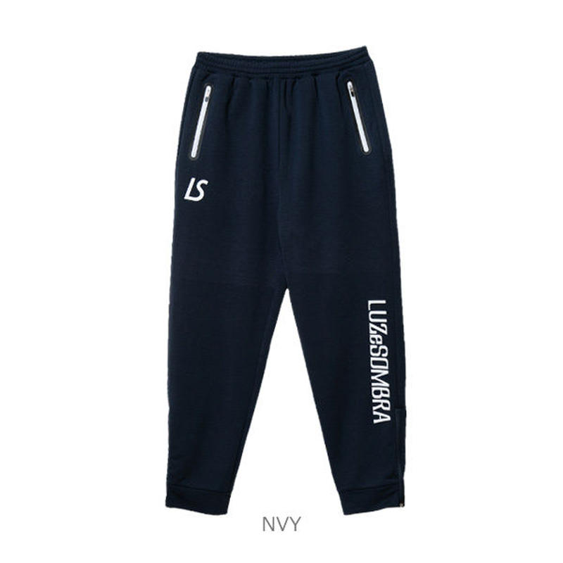 LUZ e SOMBRA P100 ACTIVE SWEAT RIB LONG PANTS【NVY】