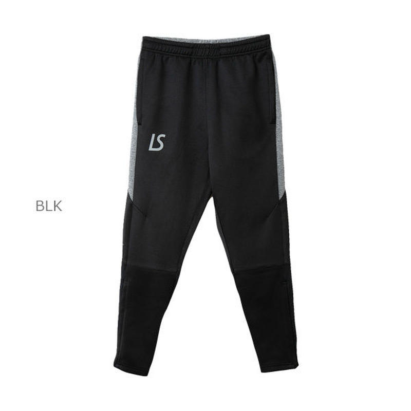 LUZ e SOMBRA SINGLE FACE JERSEY SUPER SLIM FIT LONG PANTS【BLK】