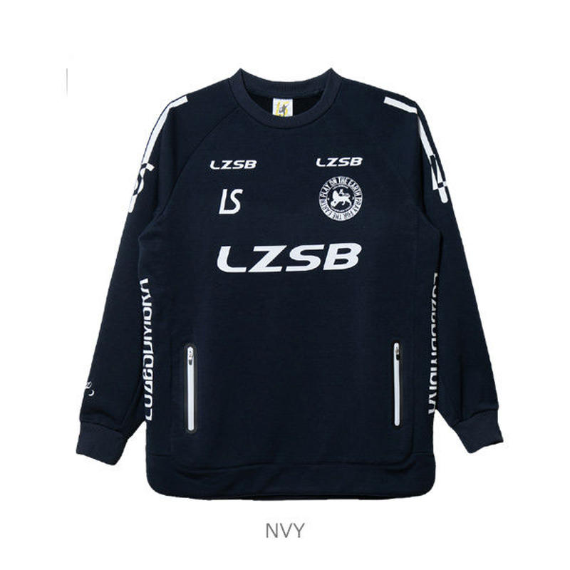 LUZ e SOMBRA P100 ACTIVE SWEAT CREW TOP【NVY】