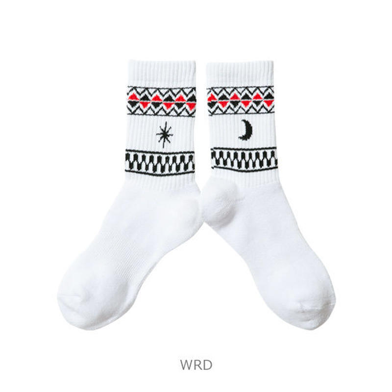 LUZ e SOMBRA TRIBAL ONE SHORT SOX【WRD】