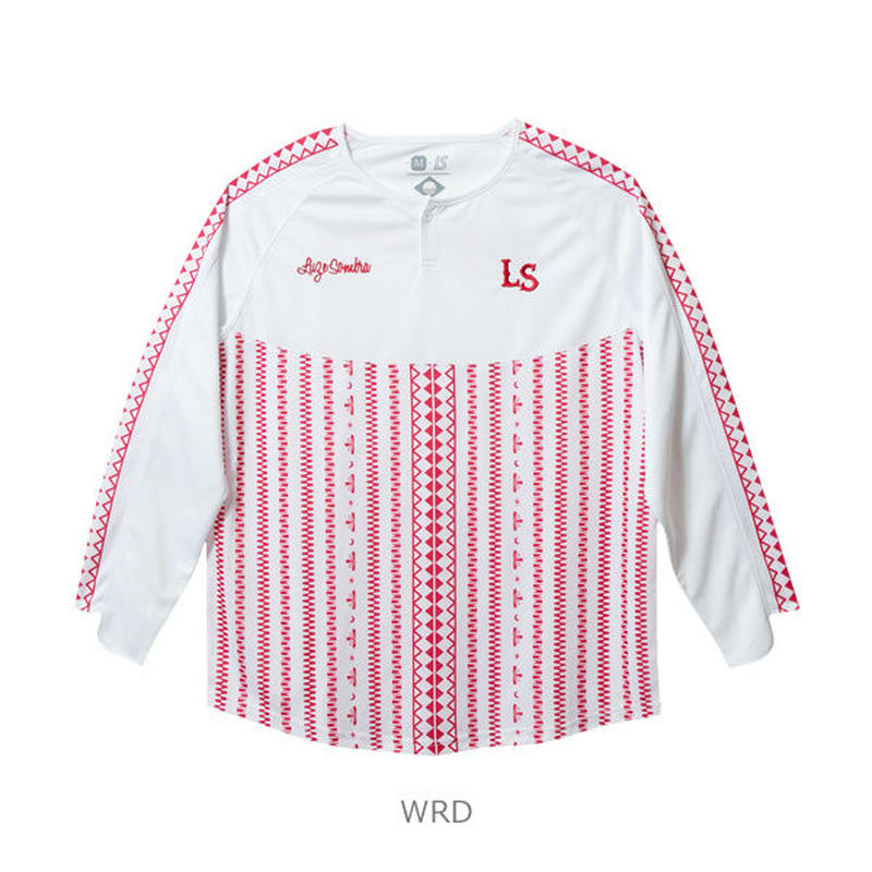 LUZ e SOMBRA TRIBAL ONE LONG GAME-SHIRT【WRD】