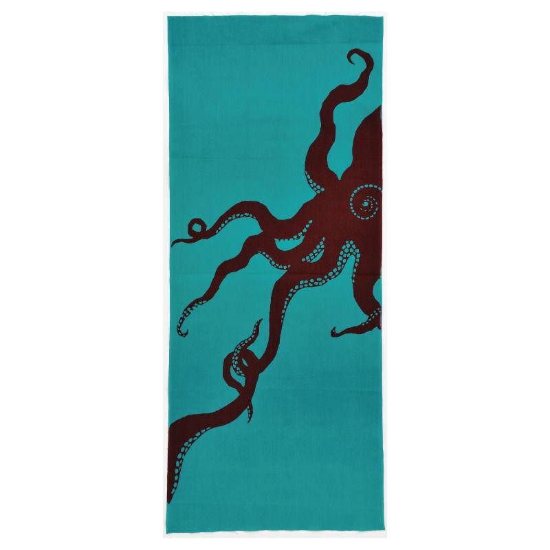 注染手ぬぐい「ひっぱり蛸」小倉染色図案工房