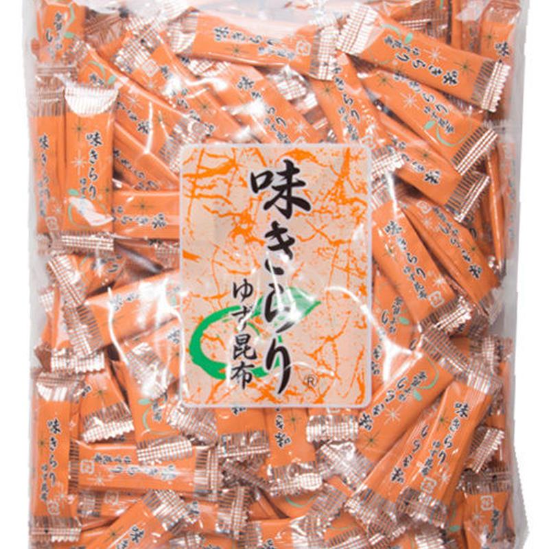 お徳用  味きらり(ゆず昆布500g入り)昆布飴