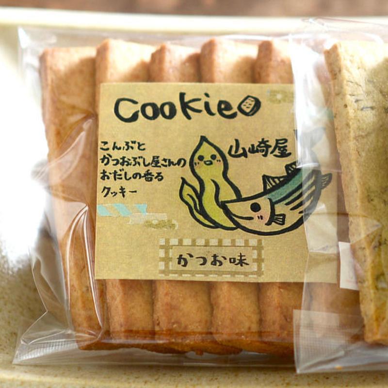 山崎屋特製 スイーツ かつおクッキー(6本入)