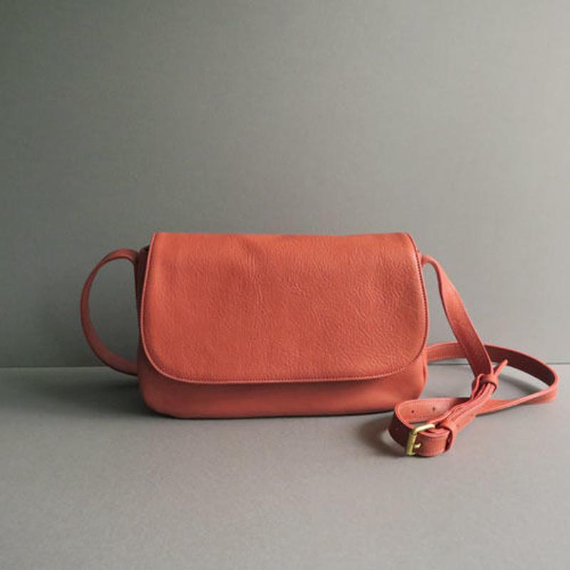 plain shoulder bag   (red)