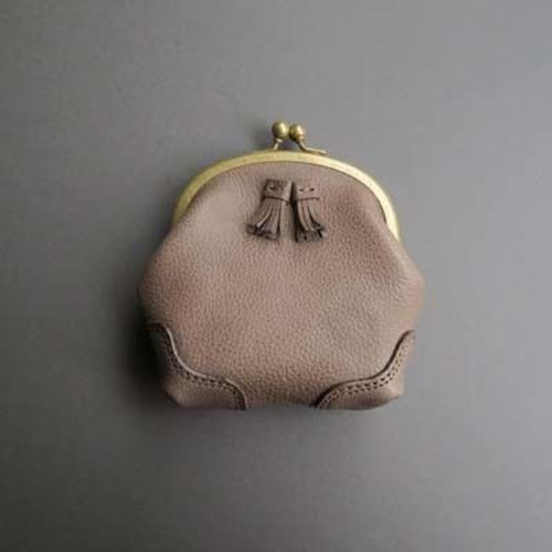 tassel mini pouch (gray)