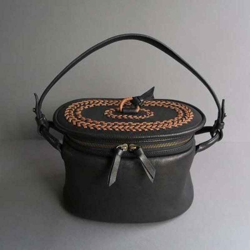 pot-oval (black)