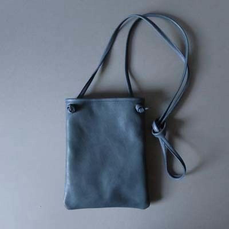 flat shoulder bag (navy)