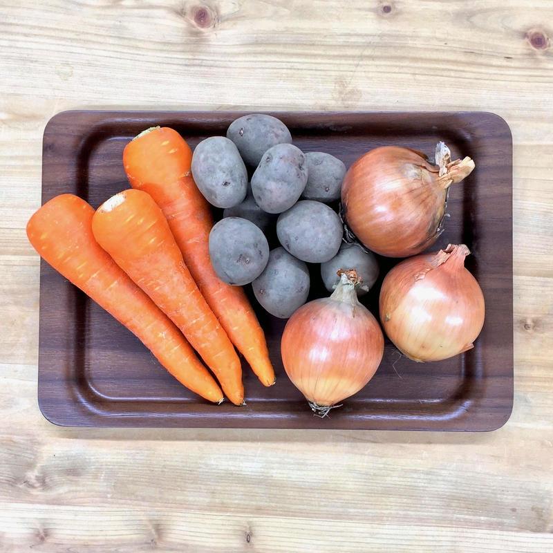 にん・たま・じゃが【基本のセット】常備野菜も安心・安全・おいしいが1番!