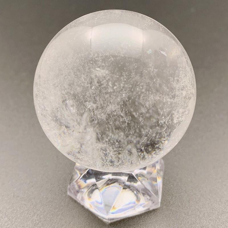 天然水晶 丸玉 46㎜