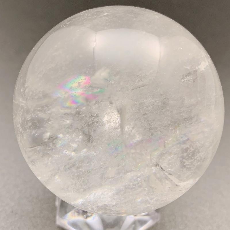 天然水晶(アイリスクォーツ) 丸玉 41㎜