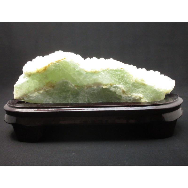 優しいグリーンがあなたを癒します。フローライト原石 2.6㎏