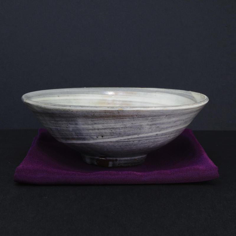中里隆「刷毛目茶碗」
