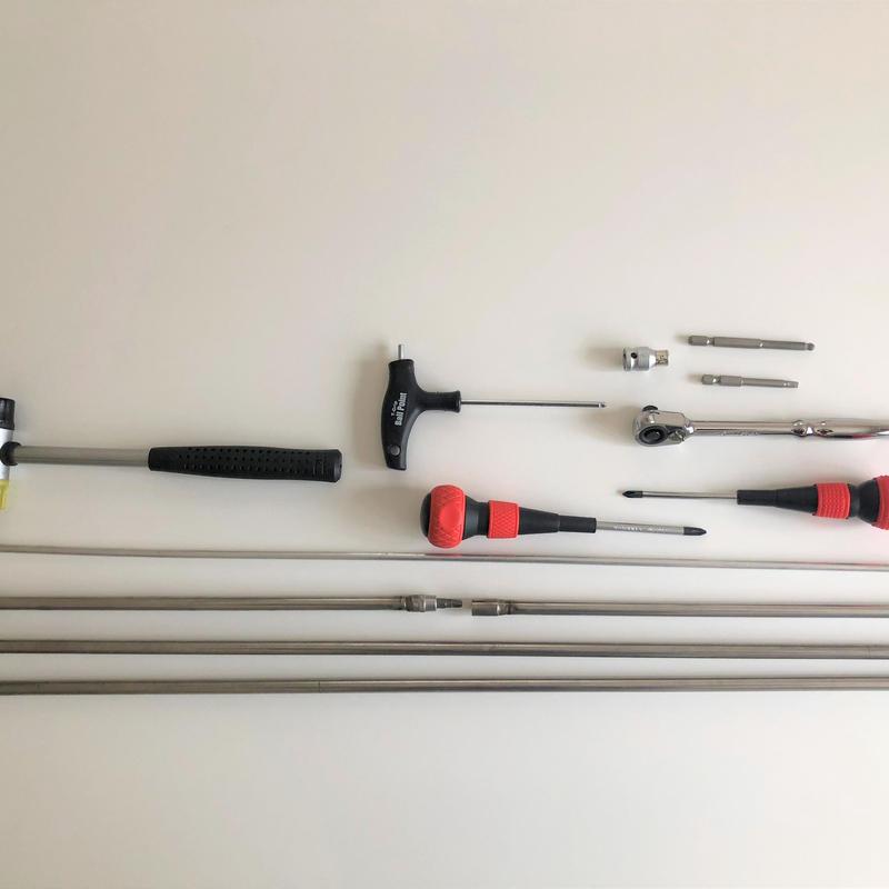 USM Haller Special Tools 13点set + 日本語取扱説明書