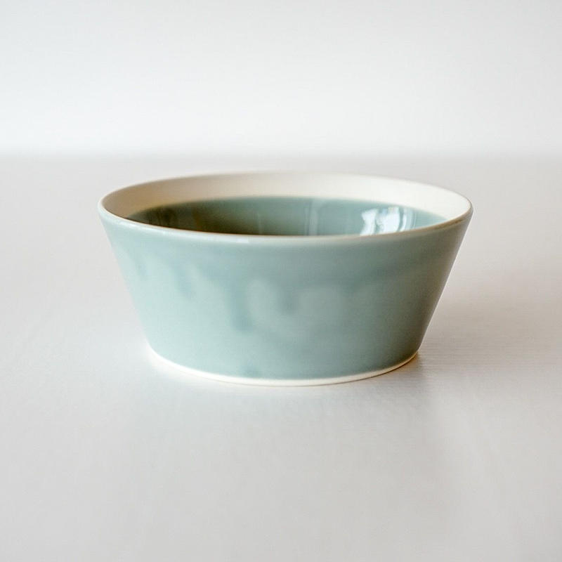 iihoshi yumiko    dishes   ボウルS pistachio green