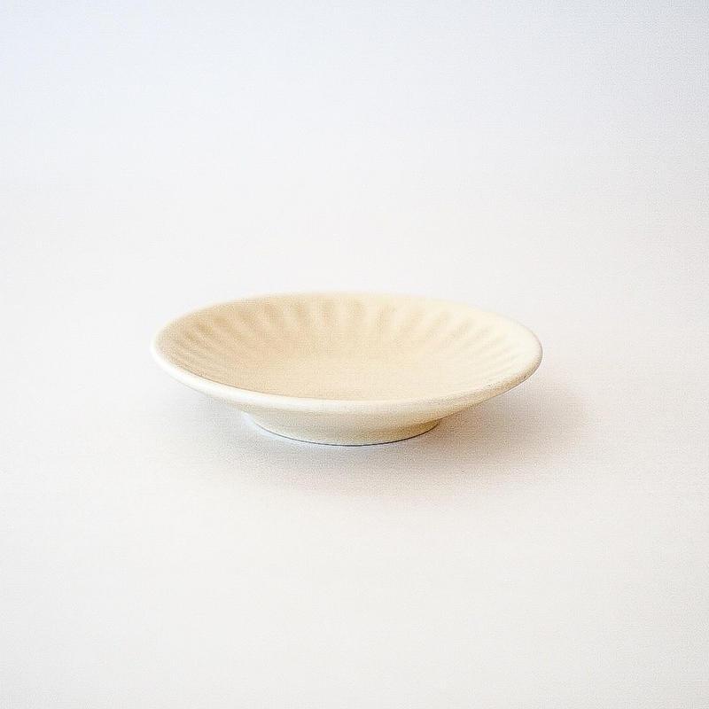 シュケル   豆皿 グレー