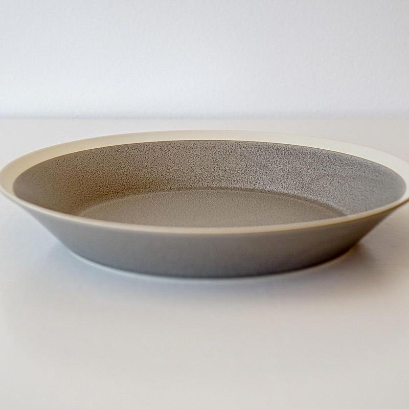 iihoshi yumiko    dishes   プレート230 moss gray