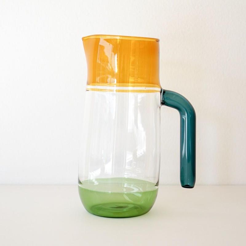 Incalmo  Jug amber × green