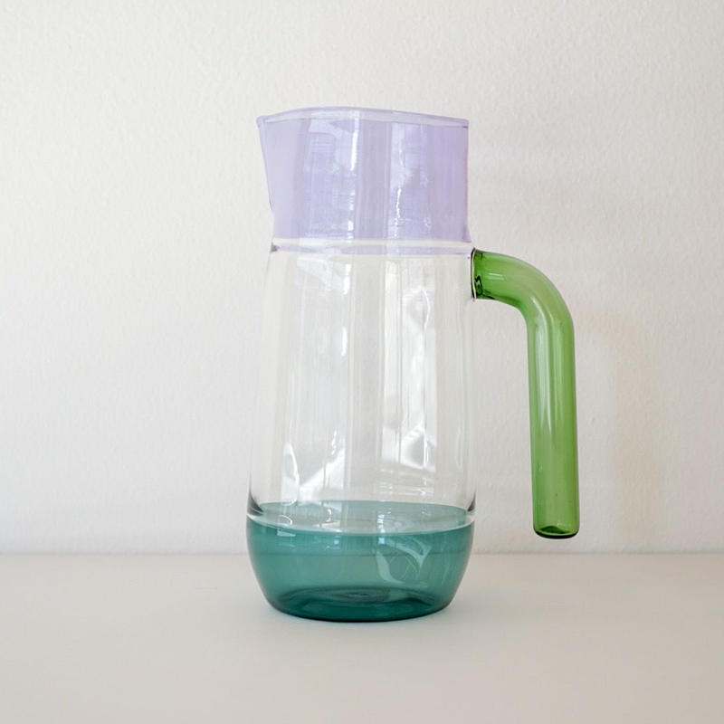 Incalmo  Jug purple × teal