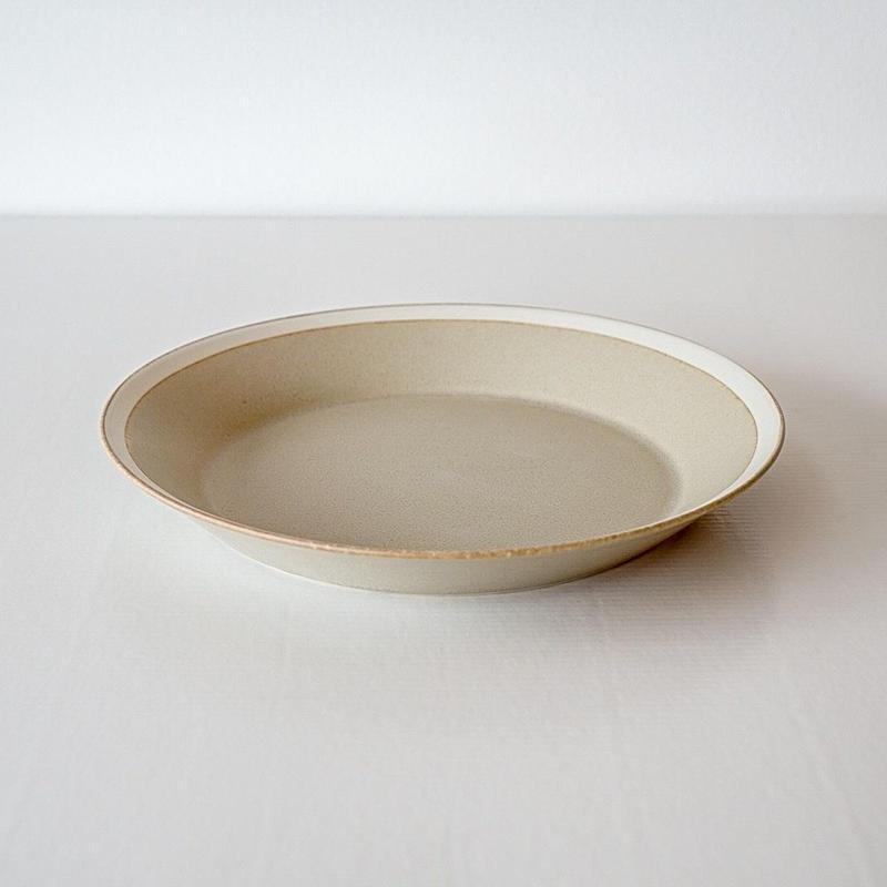iihoshi yumiko    dishes   プレート220 sand beige