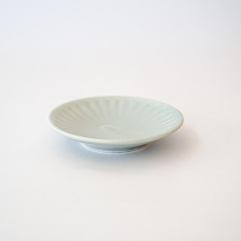 シュケル   豆皿 グリーン