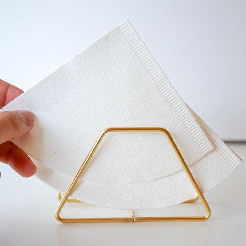 coffee filter holder   gold