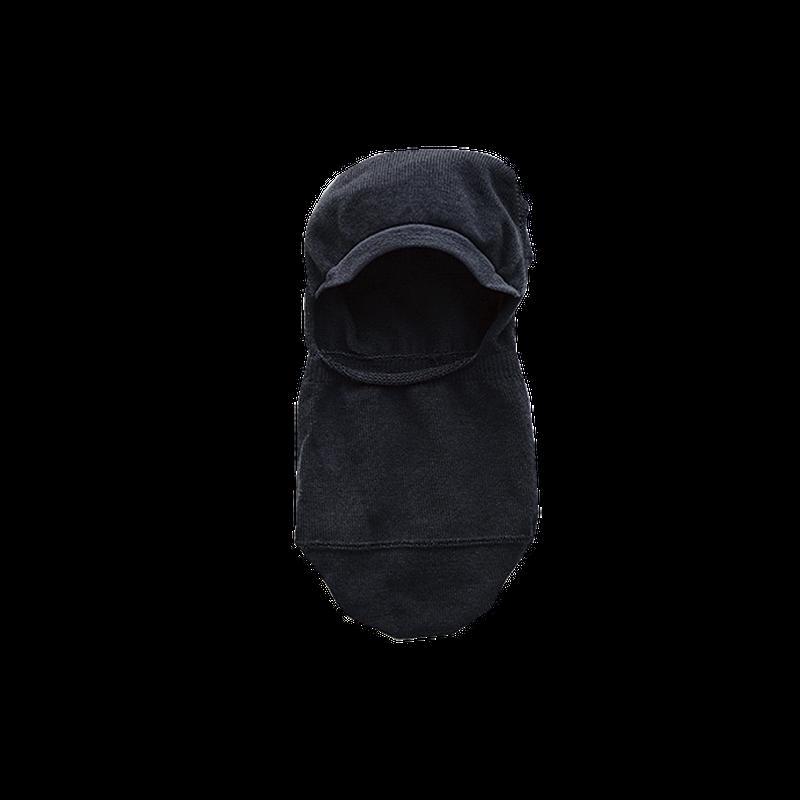 ハイツイストコットンフットカバー ブラック 23〜25cm